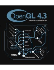 OpenGL 4.3 (Compatibility Profile) - August 6, 2012