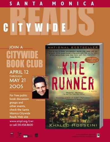 our The Kite Runner resource guide - Santa Monica Public Library
