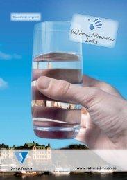 programmet för Vattenstämman 2013 - Svenskt Vatten