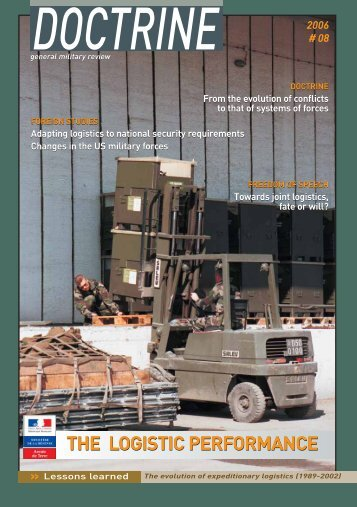 The Logistic Performance - Integrated Defence Staff