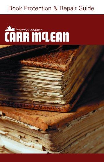 Book Protection & Repair Guide - CARR McLEAN
