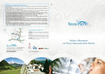 scarica la brochure cure termali e centro benessere - Trentino