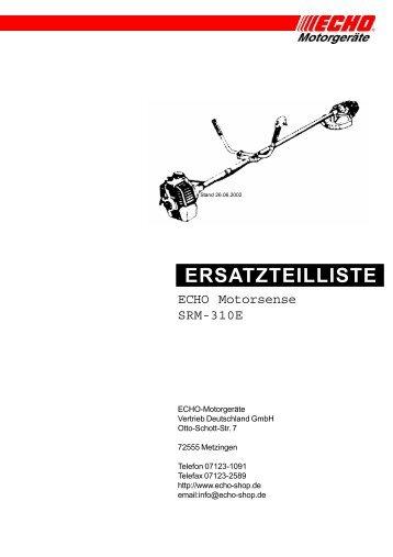 E_SRM-310E - Gartentechnik-Bremen