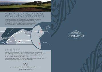 to download Stormont Brochure - Hastings Hotels