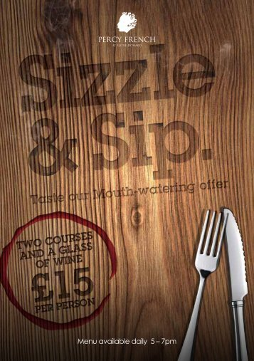 to donwload a Sample Sizzle and - Menu