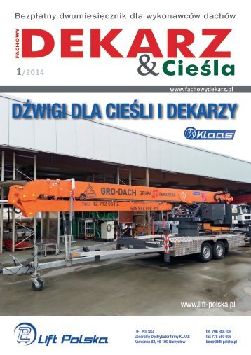 Fachowy Dekarz & Cieśla 1/2014