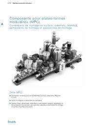 Composants pour plates formes modulaires MPC Série ... - Swagelok