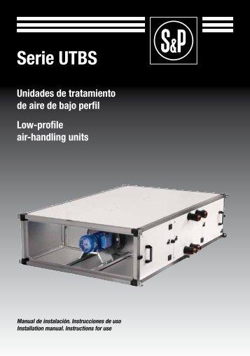 Serie UTBS - Soler & Palau Sistemas de Ventilación, SLU