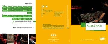 Técnico en Producción Musical - Universidad ORT Uruguay