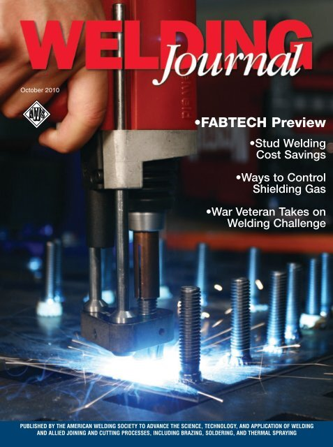 Welding Journal - October 2010