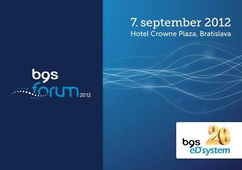 7. september 2012 - eD system Slovakia, sro