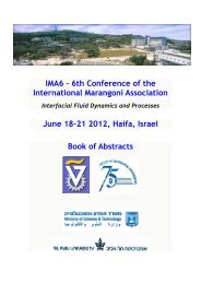 Book of Conference Abstracts - IMA6