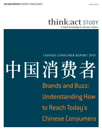 Brands and Buzz: understanding How to Reach ... - Roland Berger