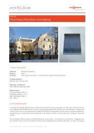 Wohnhaus München-Schwabing - archiTEC24.de