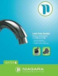 Lead-Free Aerator - Niagara Conservation