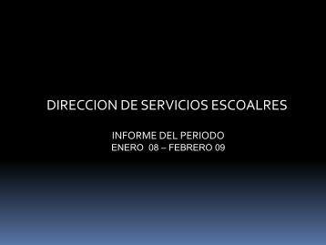 Enero 2008-Feb 2009 - sistema administrativo de calidad