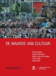 De waarde van cultuur - rapport