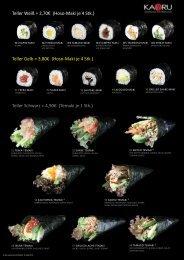 Sushikarte Korrektur Paul.indd - KAORU Japanisches Sushi ...