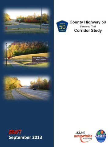 (Kenwood Trail) Corridor Study flyer - City of Lakeville