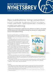 Nyhetsbrev 1, 2010 - Nestlé Nutrition