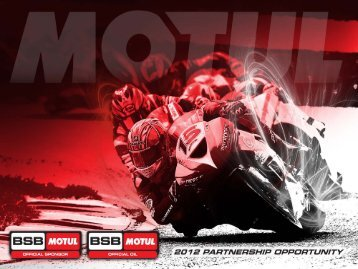 British Supersport Championship - MotorSport Vision Racing