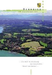 Info-PDF - Gemeinde Bernried