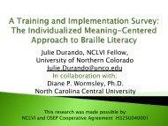 See Presentation - Salus University