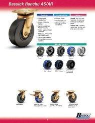 250 lbs Capacity Range 3-3//4 Length X 2-3//4 Width Plate Wagner 3F03 3-1//2 Diameter TPR Rubber Tread//Polyolefin Hub Wheel Medium Duty Institutional Rigid Plate Caster with NSF Certified E.R