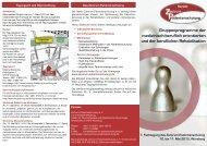 Flyer zur Tagung 2012 - Zentrum Patientenschulung