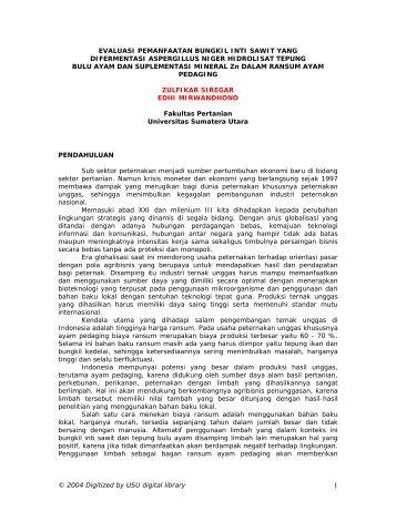 PENDAHVL VAN - USU Library - Universitas Sumatera Utara