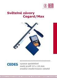 Ceník světelné závory Cegard/Max - REM-Technik sro