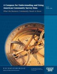 the Business Community - U.S. Census Bureau