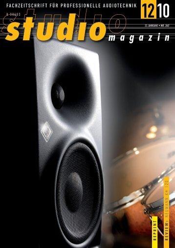 Studiomagazin - Klein + Hummel