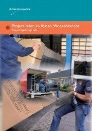 Laden en lossen Wonenbranche - Rapportage ... - Inspectie SZW