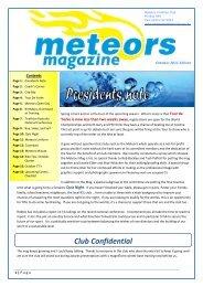 October 2011 - Meteors Triathlon Club