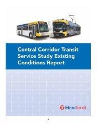 Existing Conditions Report - Metro Transit