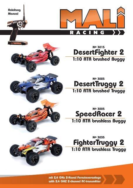 Buggy 2 6511 von Mali-Racing//df-models Achsschenkel hinten Truggy Nr
