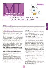 ML catalog - Maxell