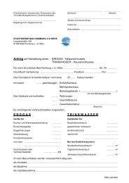 E R D G A S T R I N K W A S S E R - Stadtwerke Bad Homburg