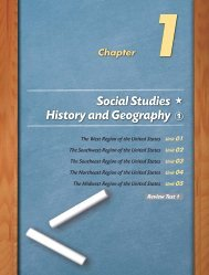 Social Studies History and Geography 1
