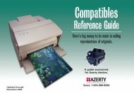 Reference Guide - Azerty.com