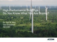 High Performance Buildings Do You Know What You Are ... - CMAA