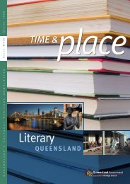 Time and Place Issue 19 Spring 2008 - Queensland Heritage Council