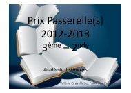 Présentation Passerelle_(s_) 2012-2013
