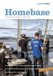 Homebase 2013 Nr. 5 - Flughafen Zürich AG