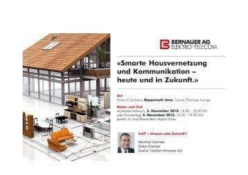 Werkhof Schulen - Bernauer AG