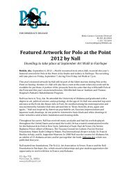 Featured Artwork for Polo at the Point 2012 by Nall - University of ...