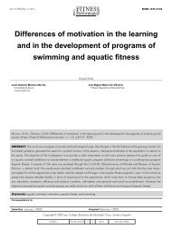 Differences of motivation in the learning and in the development of ...