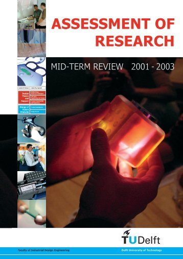 Assessment of Research, Mid-term review 2001-2003 - Industrieel ...