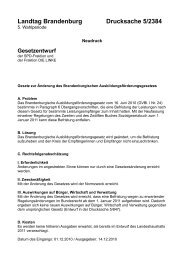 Landtag Brandenburg Drucksache 5/2384